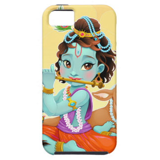Dios indio de Krishna que juega el ejemplo de la Funda Para iPhone SE/5/5s