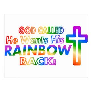Dios llamado… postal