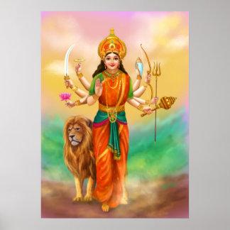 Diosa de Durga Póster