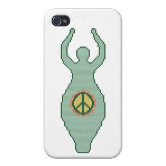 Diosa de la paz iPhone 4/4S funda