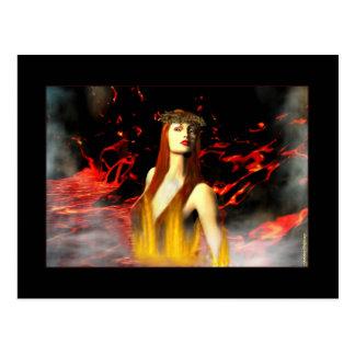 Diosa de las postales del fuego
