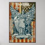 Diosa de Libertas del poster de la libertad