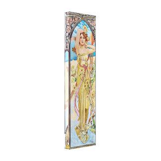 Diosa de Nouveau del arte del vintage