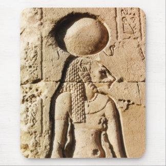 Diosa del gato de Sekhmet de Egipto superior Alfombrilla De Ratón