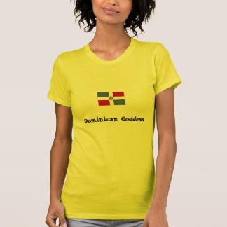 Diosa dominicana camisetas