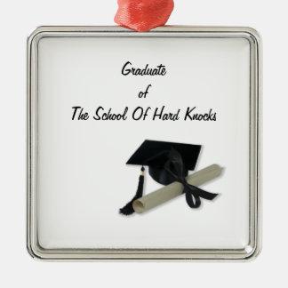 Diploma y casquillo de la graduación (tablero del  ornamento de reyes magos