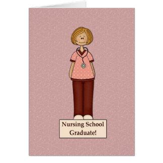 Diplomado de escuela de enfermería tarjetón