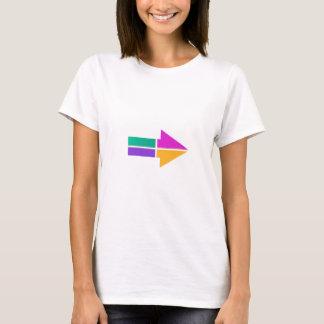 Dirección colorida mágica del código de vestimenta camiseta