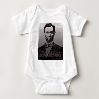 Dirección de Abe Lincoln Gettysburg Body Para Bebé