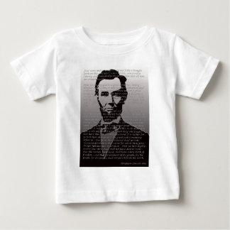 Dirección de Abe Lincoln Gettysburg Camiseta De Bebé