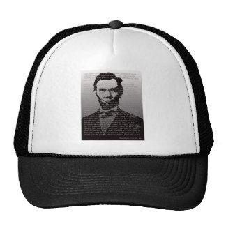 Dirección de Abraham Lincoln Gettysburg Gorras De Camionero