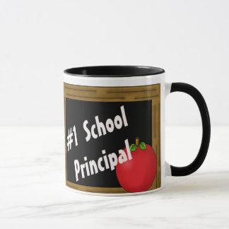 Director de escuela #1 taza
