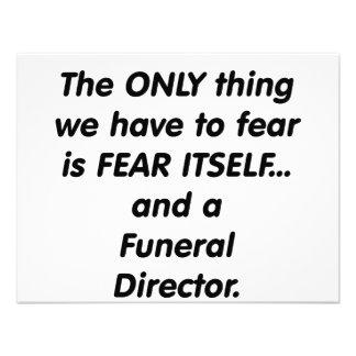 director de funeraria del miedo comunicado personal
