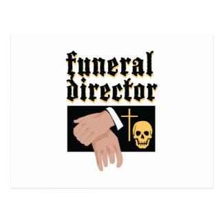 Director de funeraria postal