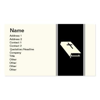 Director de funeraria tarjeta de visita