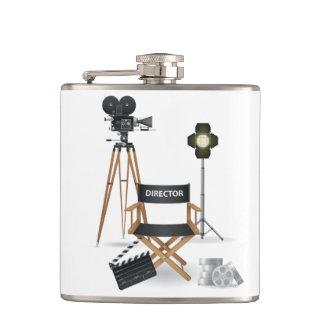 Director de película frasco determinado petaca
