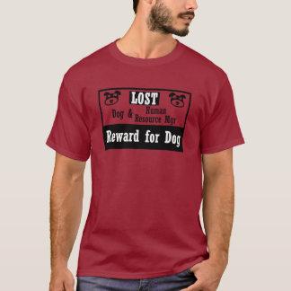 Director de recursos perdido del ser humano del camiseta