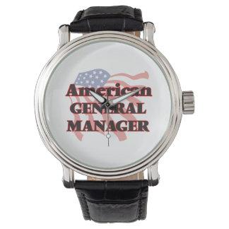 Director general americano reloj
