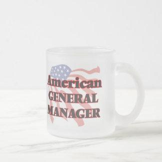 Director general americano taza cristal mate