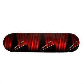 Director rojo de la tablilla de la cortina de la monopatín 21,6 cm