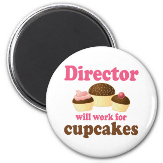 Director Will Work For Cupcakes Imán