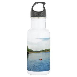 """""""dirigiendo abajo colección del río"""" botella de agua"""