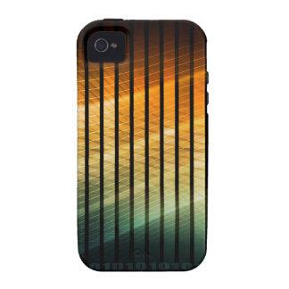 Disco de la música de DJ Techno Soundwave Vibe iPhone 4 Carcasas