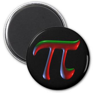 Disco de la oscuridad del pi imán para frigorífico