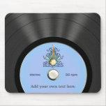 Disco de vinilo personalizado del Bluegrass Alfombrillas De Ratones