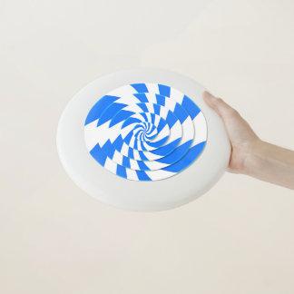Disco volador del bastón de caramelo