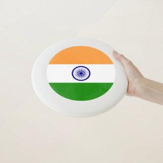 Disco volador patriótico con la bandera de la
