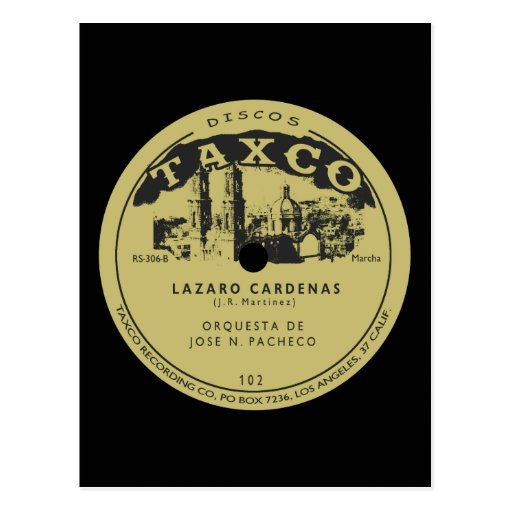 Discos Taxco Postal