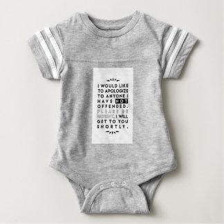 discúlpese body para bebé