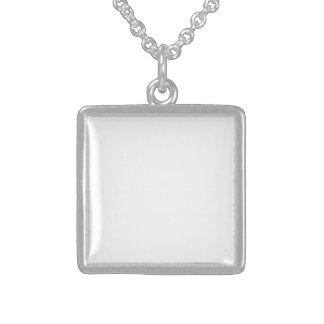 Diseña Tu Propio Medallón De Plata Esterlina Perso Collar De Plata De Ley
