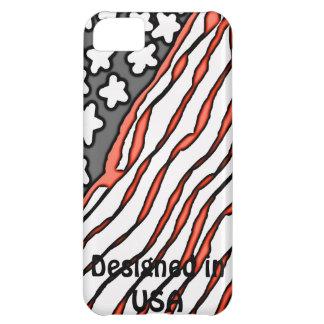 Diseñado en los E.E.U.U. Funda Para iPhone 5C