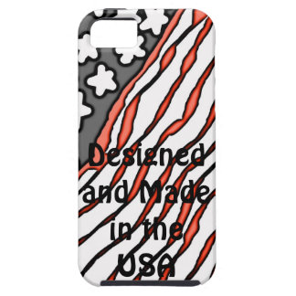 Diseñado y hecho en los E E U U iPhone 5 Protector