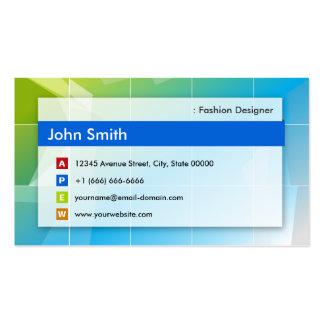 Diseñador de moda - multiusos moderno tarjetas de visita