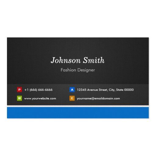 Diseñador de moda - personalizable profesional tarjeta de visita