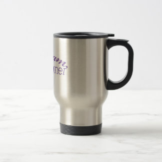 Diseñador ideal del maniquí taza de viaje de acero inoxidable