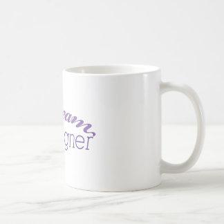 Diseñador ideal del maniquí taza básica blanca