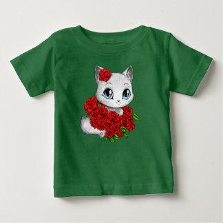 Diseñador ofrecido: La camiseta verde del bebé