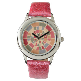 Diseñadores frescos inusuales de madera modernos reloj de pulsera