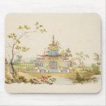 Diseñe para un templo chino, c.1810 (pluma y tinta alfombrillas de raton