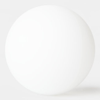Diseñe su propia bola de ping-pong