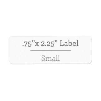 Diseñe su propia etiqueta 8,5 x 11