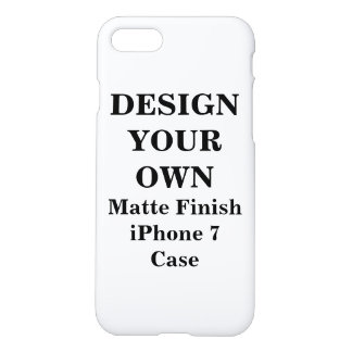 Diseñe su propio caso mate del final del iPhone 7 Funda Para iPhone 8/7