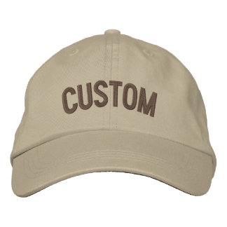 Diseñe su propio gorra bordado