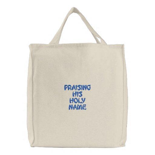 Diseñe sus los propios bolsas bordadas