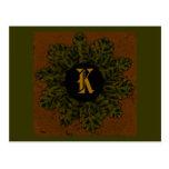 Diseño 03, postal del monograma