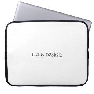 "Diseño 15"" simple de Keks manga del ordenador Funda Para Portátil"
